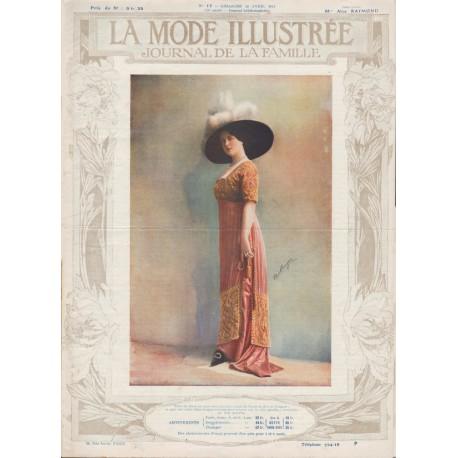 Complete magazine La Mode Illustrée 1912 N°17