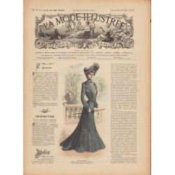 Revue complète de La Mode Illustrée 1902 N°25