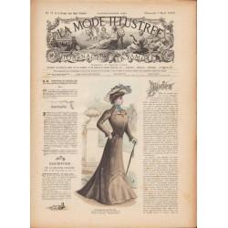 журнал мода La Mode Illustrée 1902 N°31
