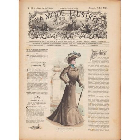 Revue complète de La Mode Illustrée 1902 N°31