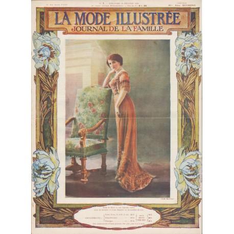 Complete magazine La Mode Illustrée 1910 N°07