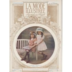 Revue complète de La Mode Illustrée 1910 N°18