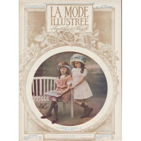 Complete magazine La Mode Illustrée 1910 N°18