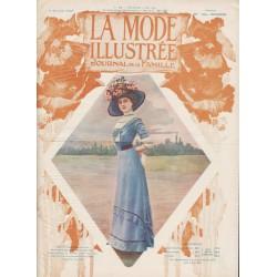 Revue complète de La Mode Illustrée 1910 N°19