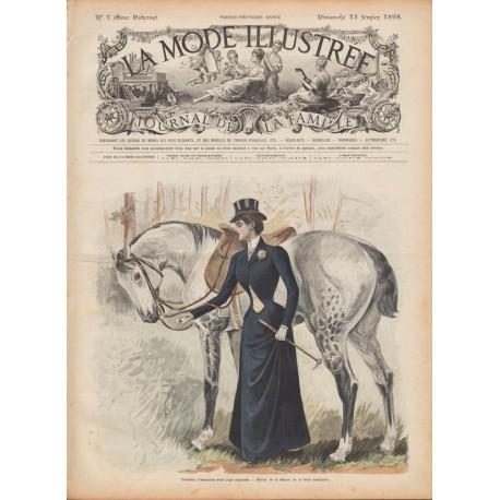 Complete magazine La Mode Illustrée 1898 N°07