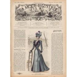 журнал мода La Mode Illustrée 1898 N°03