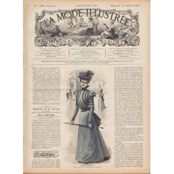 Revue complète de La Mode Illustrée 1898 N°05