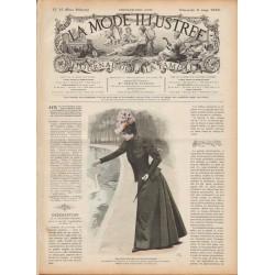 журнал мода La Mode Illustrée 1898 N°10