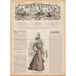 журнал мода La Mode Illustrée 1898 N°12