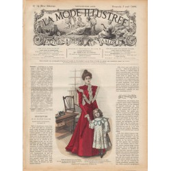 журнал мода La Mode Illustrée 1898 N°14