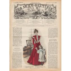 Revue complète de La Mode Illustrée 1898 N°14