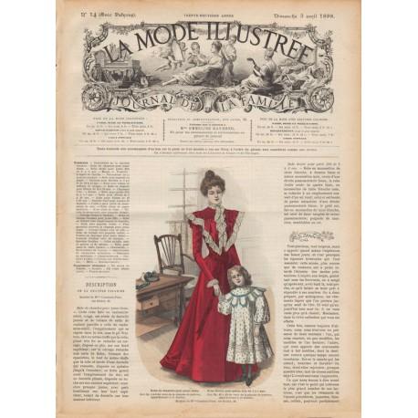 Complete magazine La Mode Illustrée 1898 N°14