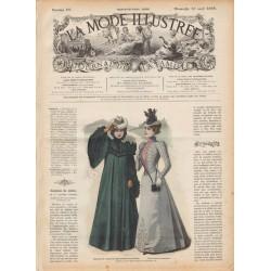 журнал мода La Mode Illustrée 1898 N°15
