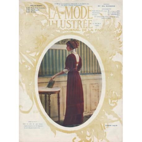 magazine La Mode Illustrée 1911 N°52