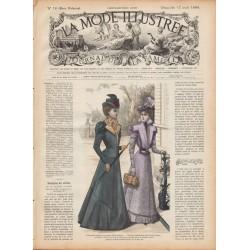 журнал мода La Mode Illustrée 1898 N°16