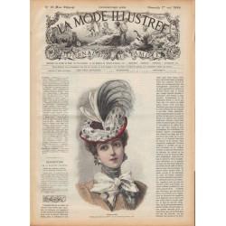 журнал мода La Mode Illustrée 1898 N°18