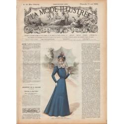 журнал мода La Mode Illustrée 1898 N°20