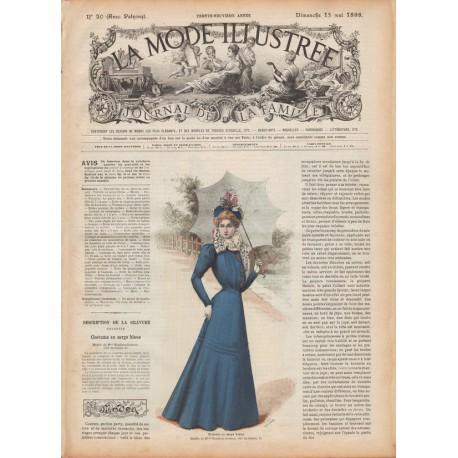 Revue complète de La Mode Illustrée 1898 N°20