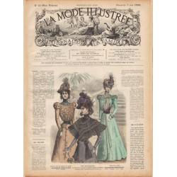 журнал мода La Mode Illustrée 1898 N°23
