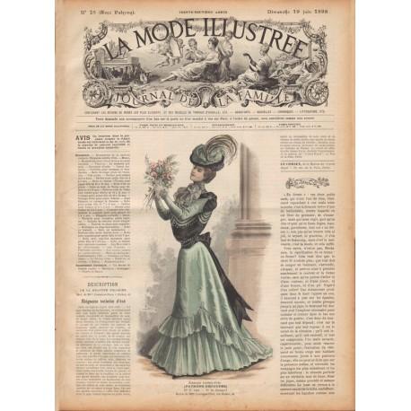 Complete magazine La Mode Illustrée 1898 N°25