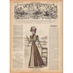 Complete magazine La Mode Illustrée 1898 N°27