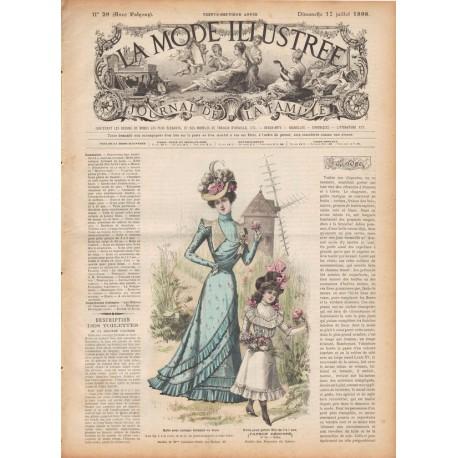 Complete magazine La Mode Illustrée 1898 N°29