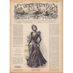 Complete magazine La Mode Illustrée 1898 N°31