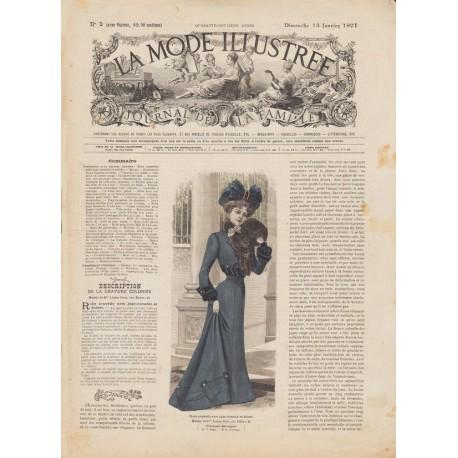 Complete magazine La Mode Illustrée 1901 N°02