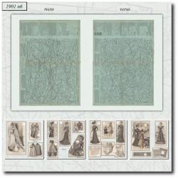 Sewing patterns La Mode Illustrée 1901 N°06
