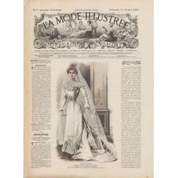 Complete magazine La Mode Illustrée 1901 N°06