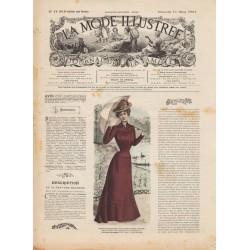 Revue complète de La Mode Illustrée 1901 N°11