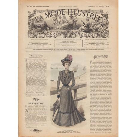 Complete magazine La Mode Illustrée 1901 N°13
