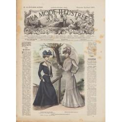 Revue complète de La Mode Illustrée 1901 N°15