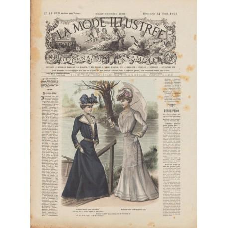 Complete magazine La Mode Illustrée 1901 N°15