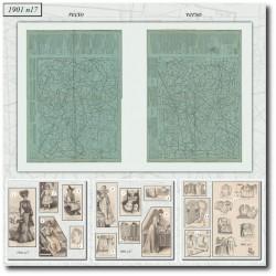 Sewing patterns La Mode Illustrée 1901 N°17