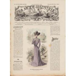 Complete magazine La Mode Illustrée 1901 N°17