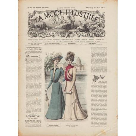 Complete magazine La Mode Illustrée 1901 N°19