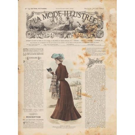 Complete magazine La Mode Illustrée 1901 N°24