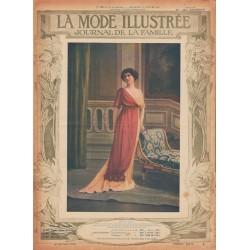 Revue complète de La Mode Illustrée 1912 N°28
