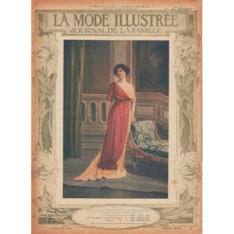 Complete magazine La Mode Illustrée 1912 N°28