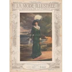 Complete magazine La Mode Illustrée 1912 N°29