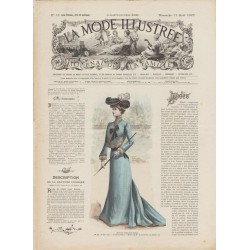 журнал мода La Mode Illustrée 1901 N°32