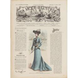 Revue complète de La Mode Illustrée 1901 N°32
