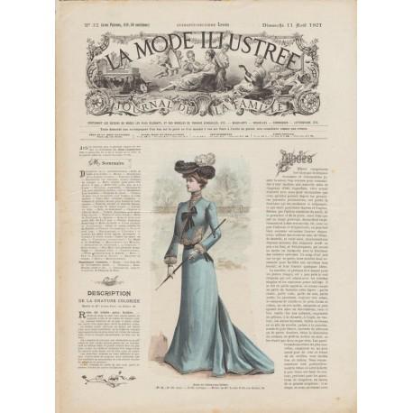 Complete magazine La Mode Illustrée 1901 N°32
