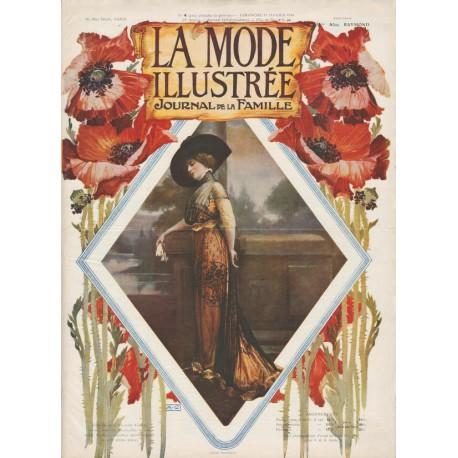 Complete magazine La Mode Illustrée 1910 N°04