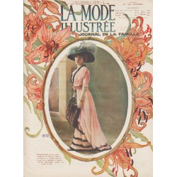 Complete magazine La Mode Illustrée 1910 N°05