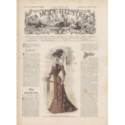 Revue complète de La Mode Illustrée 1901 N°34