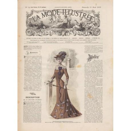 Complete magazine La Mode Illustrée 1901 N°34