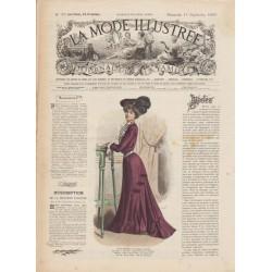 Complete magazine La Mode Illustrée 1901 N°37
