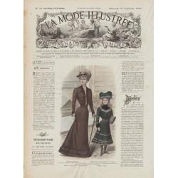 Complete magazine La Mode Illustrée 1901 N°39